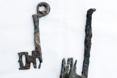 Keys from the Cameroun caves in the Judaic Desert, Israel