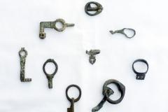 Roman rings - keys