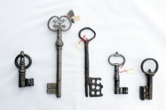 European keys from the thirteen century onward